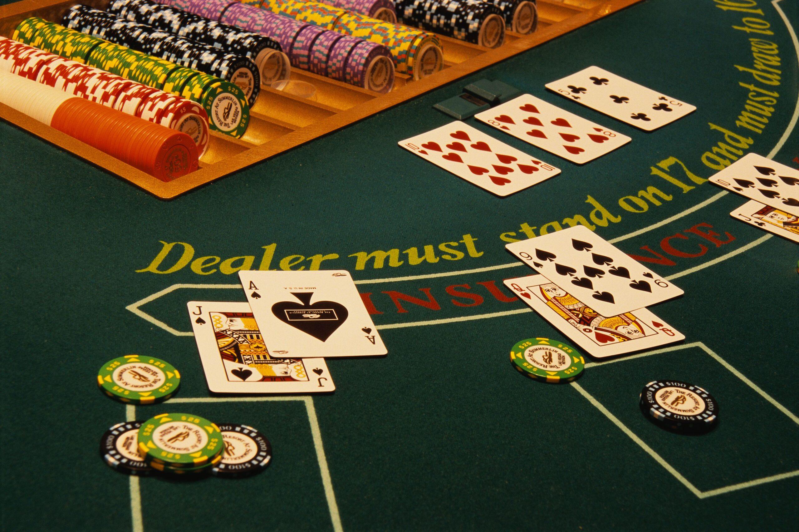 Casinoper Blackjackte Teslim Olma (Surrender)
